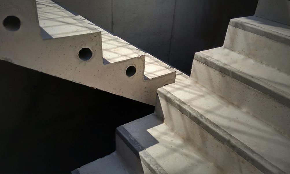 Escaleras de hormig n bottai - Escalera prefabricada de hormigon ...